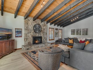 Walk downtown and close to Squaw/Alpine/Homewood and more...