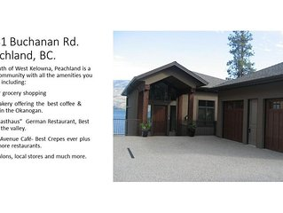Luxury Lakefront Property in Peachland, BC.  Gorgeous Mountain and Lake Views!
