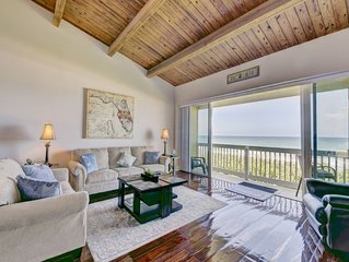 Direct ocean front town home no beach restrictions!