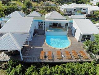 Villa Petit Paradis…3BR, Pool, Stunning Views on Orient Bay