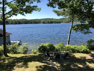 Walk to Sunapee Harbor & Enjoy 5BR Lakefront Home with Boat Slip