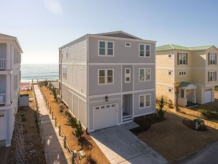 Oceans Edge-5 Bedroom with Pool direct oceanfront, Sleeps 12 New Construction