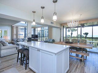Completely Renovated Cyp Beach #1 Gulf-front Townhouse!  Bikes, Kayak & Views!