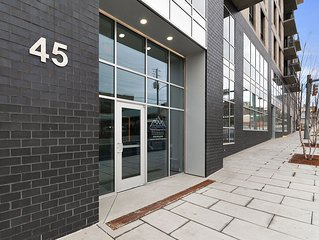 Downtown New Luxury Condo in Heart of Asheville #405