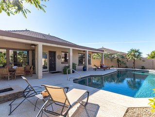 Luxury Palm Valley Home with Pool!