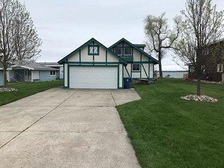 Lake Front Home Houghton Lake Michigan