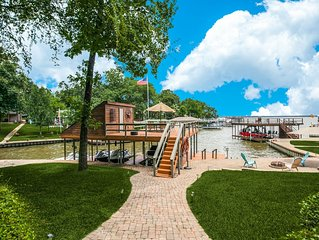 *New* Private & Gated Cedar Creek Resort Lodge!! Aug & Sept Openings Available