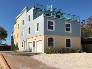 2 LARGE HOUSES  Sleeps 30+ 6BR/ 8BA  15x28 HEATED POOL+PRIVATE BEACH*OCEANVIEW