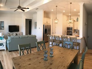 Brand new townhome in Prominence on 30A across from the Hub with 2 cruiser bikes