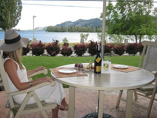 Celebrate Okanagan Country & Lake Osoyoos from our waterfront property