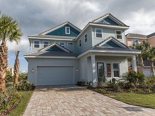 *AMAZING AND NEW* 5 Bed/4.5 Bath Prvt Pool/Spa/Lanai,Lakeview