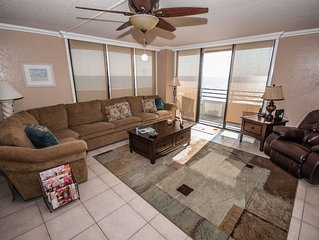 Wow What reviews!!  New Furniture,  Beachfront Condo,