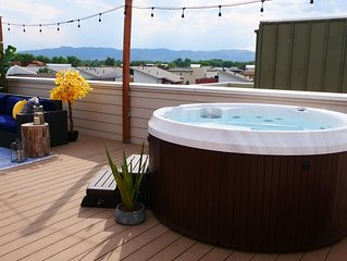 Rooftop Oasis, with Hot Tub and Mtn Views in Old Town Fort Collins!