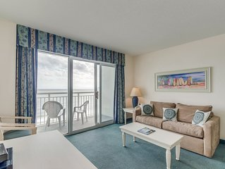 Oceanfront condo in a great resort + FREE DAILY ACTIVITIES!