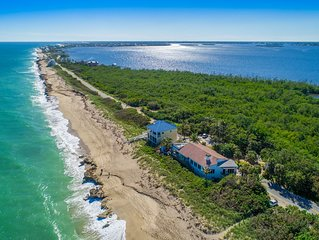 La Dolce Vita:  Big Beach House w/ elevator & heated pool! (DIRECTLY ON BEACH)