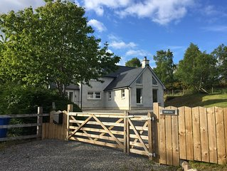 Contemporary Highland House in Fort Augustus, minutes from Loch Ness