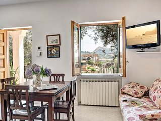 Holiday House- in Massa Lubrense with Capri's view
