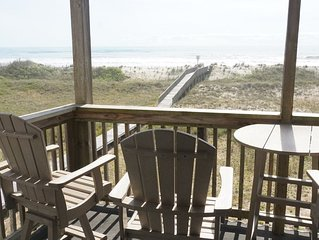 Oceanfront 2BR/2 Bath Second Floor Condo with Pool and Oceanfront Deck