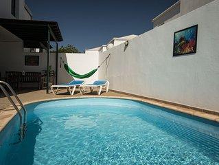 Charmante Villa avec Piscine privée à 5min de la plage.