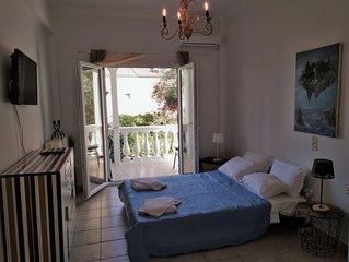 Terra Nova apartment in Ipsos beach.