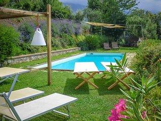 Emilia - rustico in collina con piscina privata, WIFI e vista, Lucca, Toscana