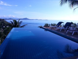 Ban sua samui - unique roof terrace, 2 pools & 300 meters from the beach
