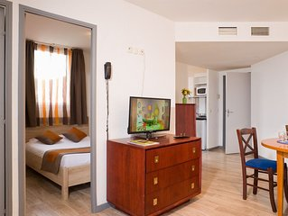 Appartement pour 4 cosy et lumineux dans le centre-ville !