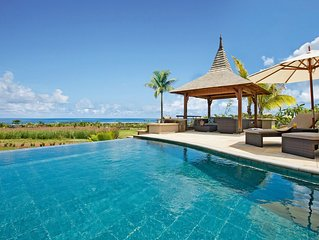 Fully-Equipped Luxury Villa with Private Infinity Pool + Access Facilities at Pa