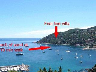 Villa à 10 minutes à pieds de la plage