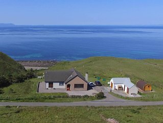 Shiskine : self catering apartment with stunning views