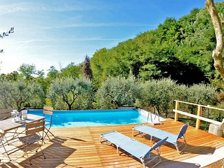 My Sweet Paradise on Lucca hilsl with stunning view