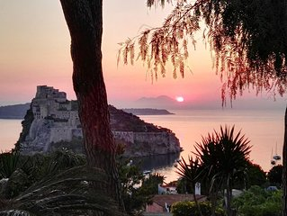 Villa Livia, il panorama piu bello di Ischia