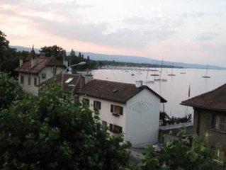 Charmant duplex face au lac de Genève