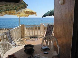 Casa sulla scogliera di Cava d'Aliga - Scicli - Ragusa - WiFi  - Fronte mare