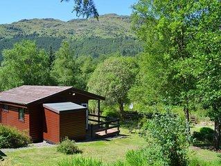 Ash Lodge, near Dunoon. Pet friendly budget accommodation sleeps 2
