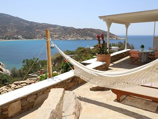 Athina Villa Ios, Luxury Villa with stunning seaview, 2 BDR