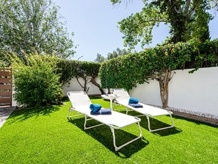 Vilamoura Garden House-Golf & Beach (5m Marina)