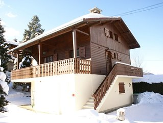 PRETTY TRADITIONAL CHALET ACCOMMODING 14 PERSONS