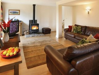 Orchard Cottage, on the Cheshire border, is an intriguing barn conversion in the