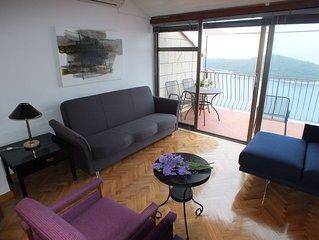 Beautiful postcard picture apartment in Dubrovnik!