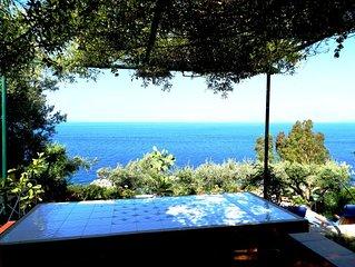 Scopello - Villa con giardino in residence a 100m dal mare