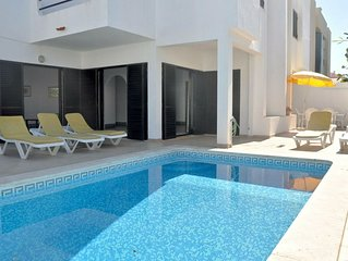 Comfortable semi-detached in Vilamoura, 5 min from the centre