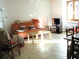 VAL CENIS: Appartement spacieux dans le village de Lanslebourg Mont Cenis