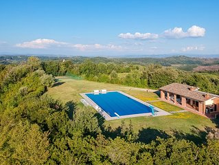 Villa with private half olympic pool and private tennis