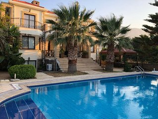 Super Villa for rent 100m. from the sea