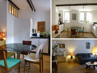 AVIGNON CENTRE Appart 2/3 chambres - 2sdb   -  3Bed/2Bath SPACIOUS QUIET