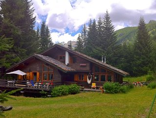 Chalet di charme in valle d'aosta