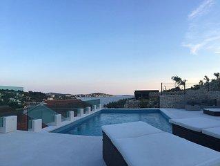 Villa Kristina with private pool &amazing view