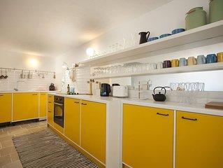 Designer house in Mediterranean seaside village