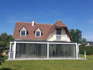 Maison avec piscine couverte à Dieppe